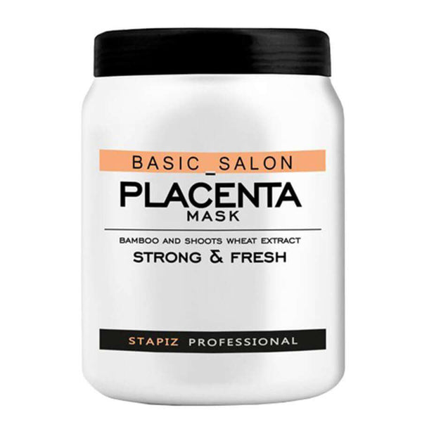 stapiz hait mask placenta basic salon 1000ml strong and fresh
