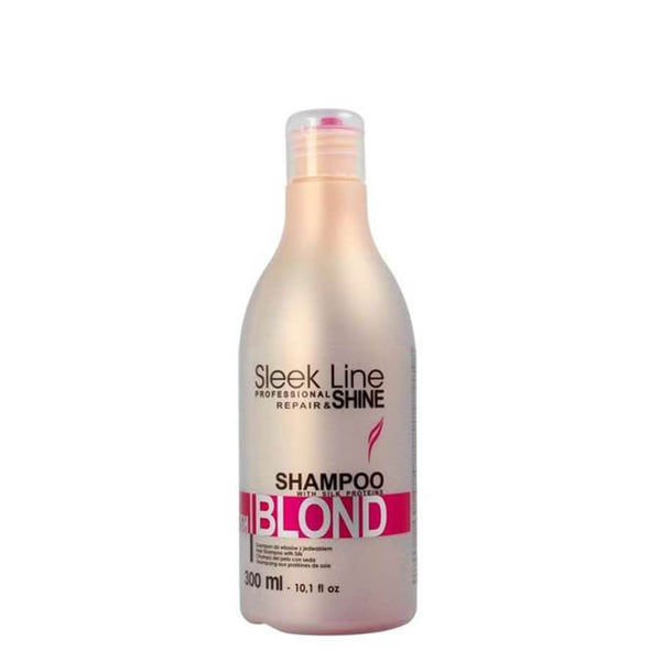 stapiz blonde shampoo 300ml blush color sleek line
