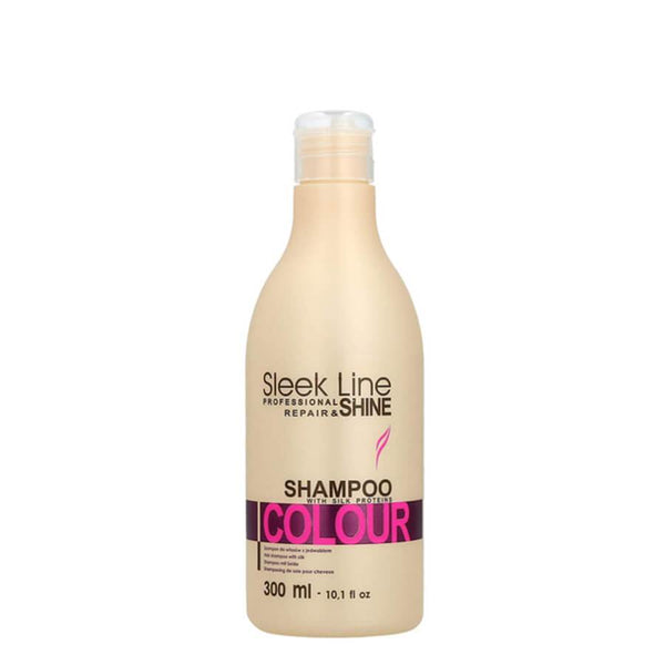 stapiz colour hair shampoo 300ml sleek line