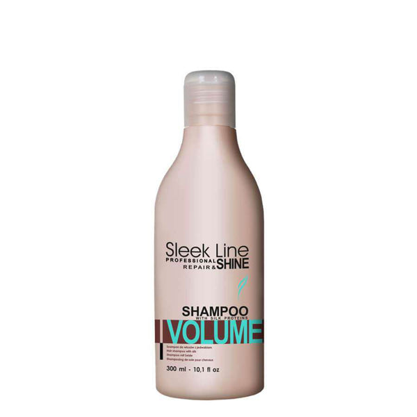 stapiz sleek line volume shampoo 300ml with silk proteins
