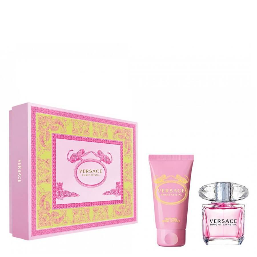Versace Bright Crystal Gift Set EDT 30ml & Body Lotion 50ml