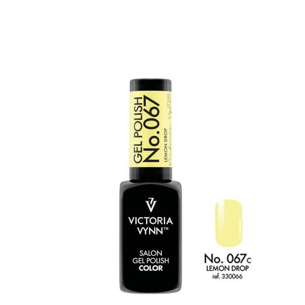 Victoria Vynn Gel Polish Color 067 Lemon Drop 8ml