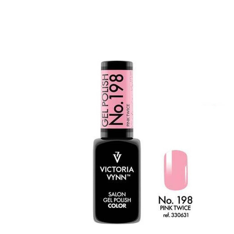 Victoria Vynn Gel Polish Color 198 Pink Twice 8ml