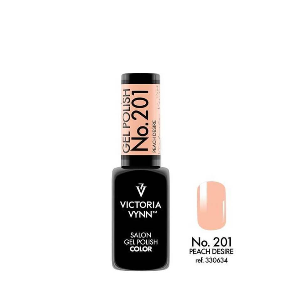 Victoria Vynn Gel Polish Color 201 Peach Desire 8ml