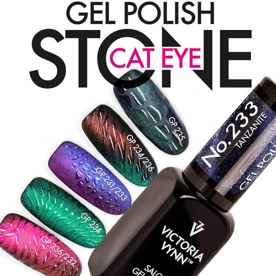 Victoria Vynn Gel Polish Color 234 Cat Eye Kyanite 8ml