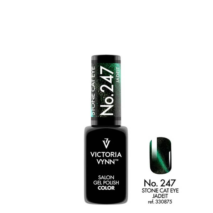 Victoria Vynn Gel Polish Color 247 Cat Eye Jadeit 8ml