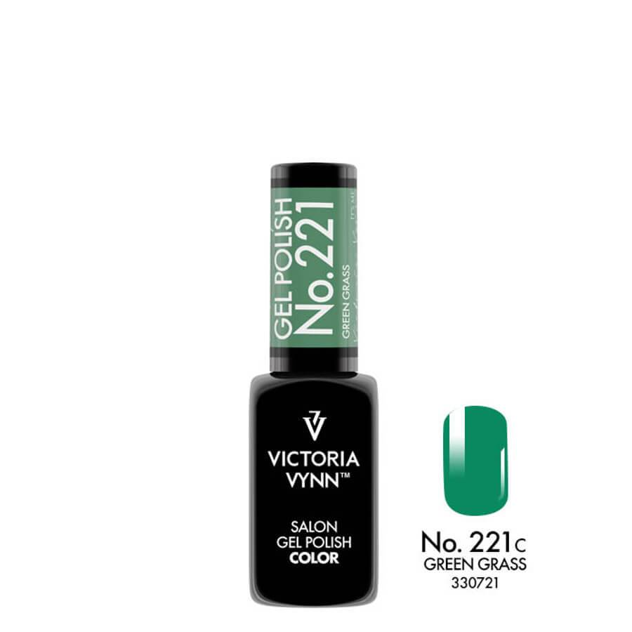 Victoria Vynn Gel Polish Color 221 Green Grass 8ml