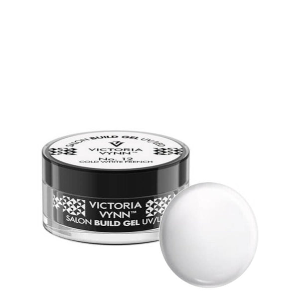 victoria vynn builder gel cold white french 12