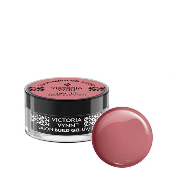 victoria vynn builder gel cover dust pink 13