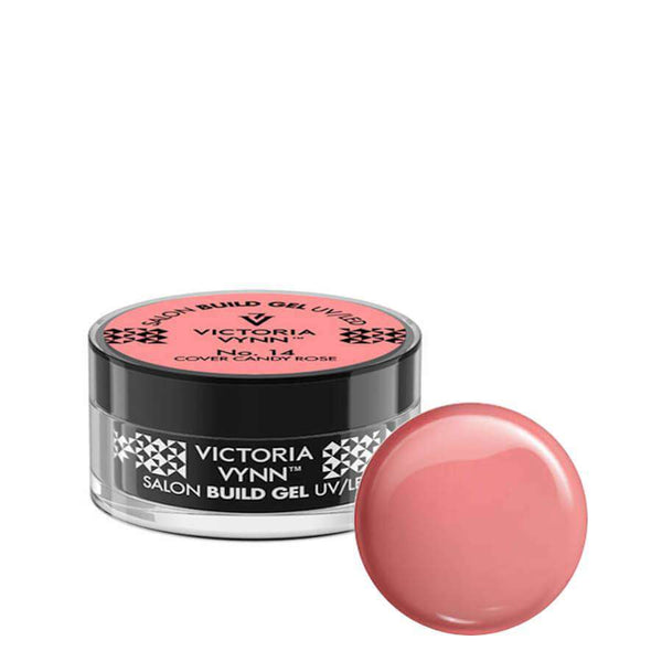 victoria vynn builder gel cover candy rose 14