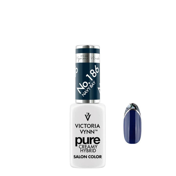 Victoria Vynn Pure Creamy Hybrid Gel 186 Navy Bay 8ml