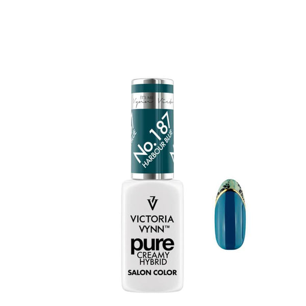 Victoria Vynn Pure Creamy Hybrid Gel 187 Harbour Blue 8ml