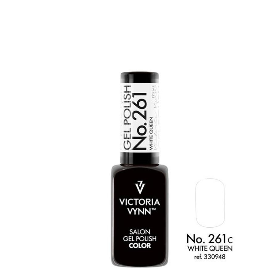 Victoria Vynn Gel Polish Color 261 White Queen 8ml