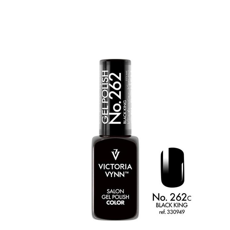 Victoria Vynn Gel Polish Color 262 Black King 8ml