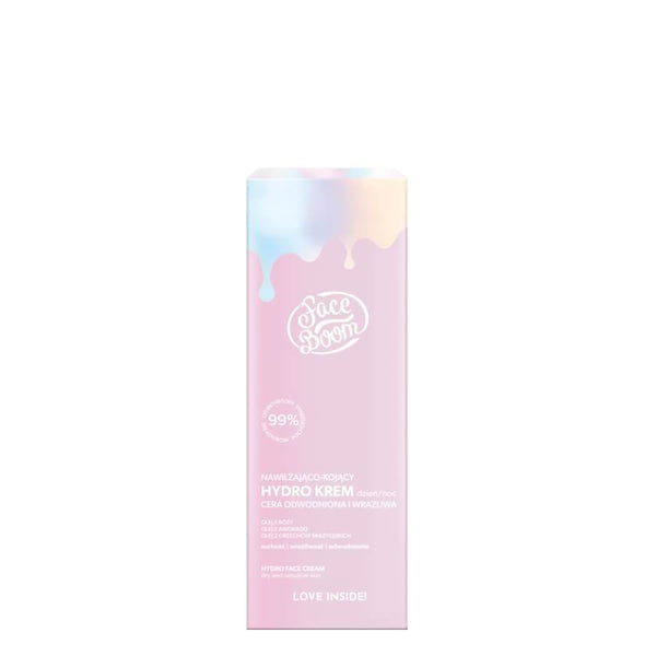 face boom bielenda hydro cream 50ml vegan