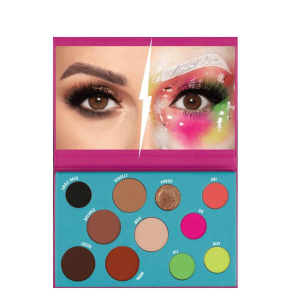 Wibo Feel My Mind Makeup Palette colours