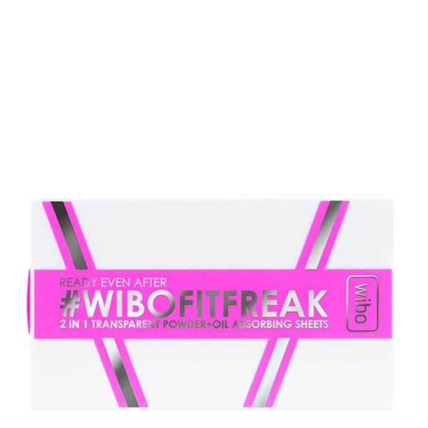 Wibo Fit Freak 2in1 Transparent Powder & Oil Absorbing Sheets