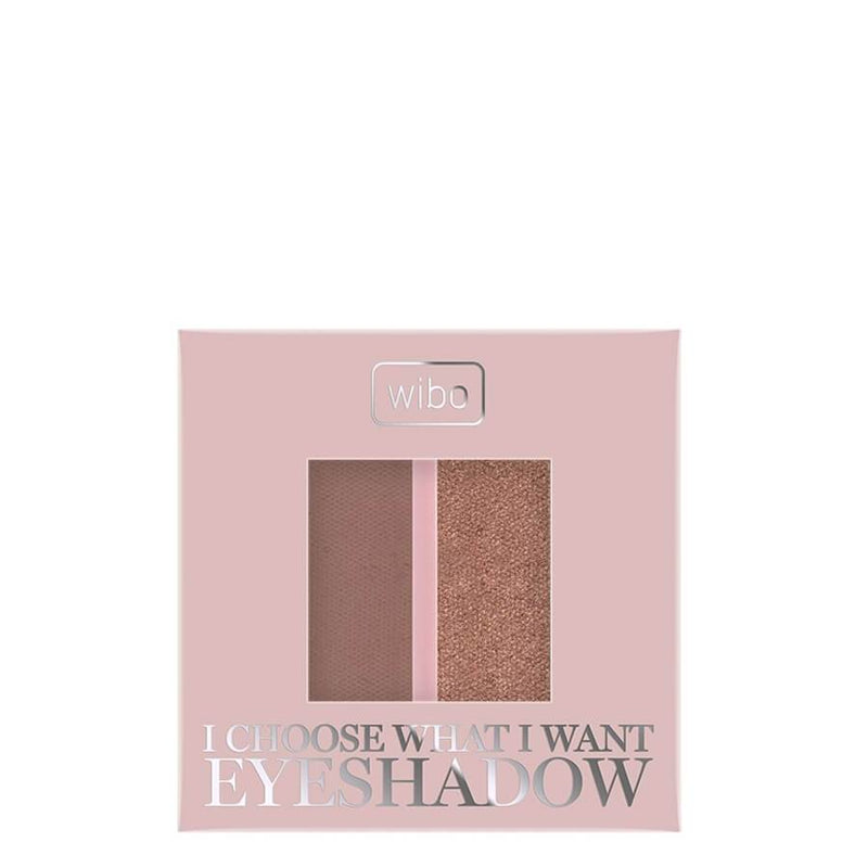 Wibo Duo Eyeshadow I Choose What I Want gold cappucino