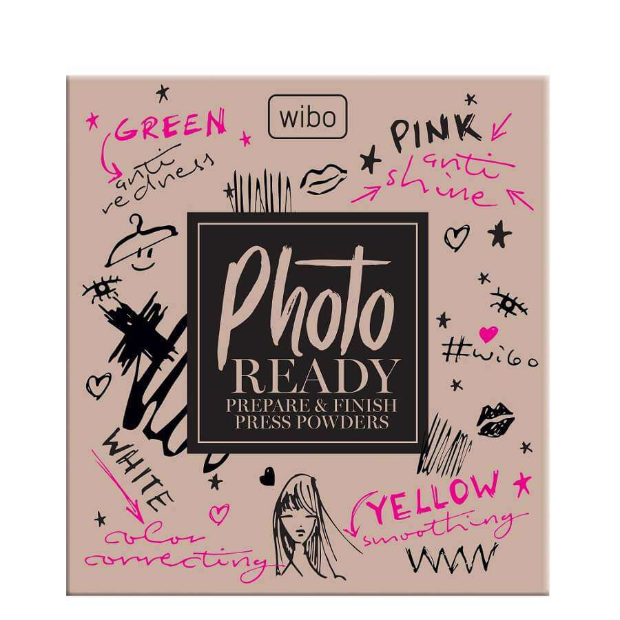 Wibo Photo Ready Prepare & Finish Pressed Powders opened