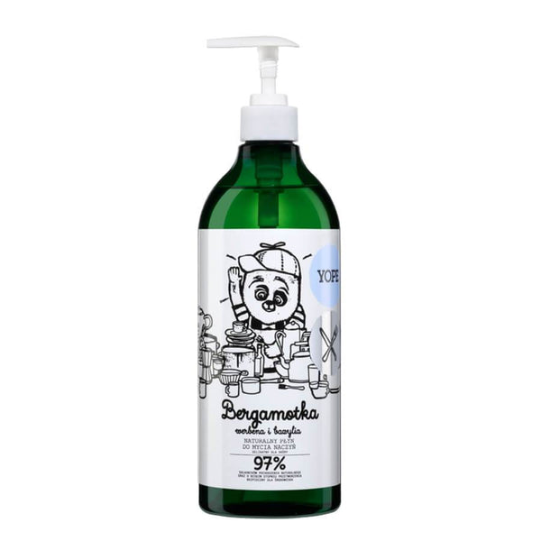 Yope Natural Dishwashing Liquid Bergamot & Verbena 750ml