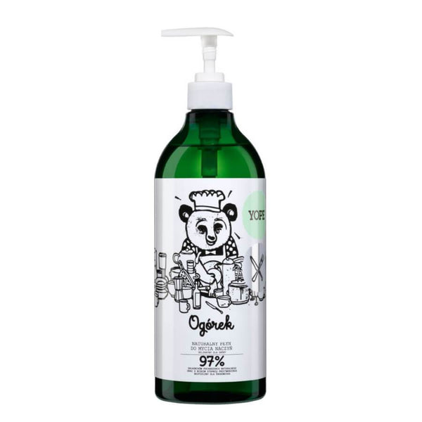 Yope Natural Dishwashing Liquid Cucumber 750ml