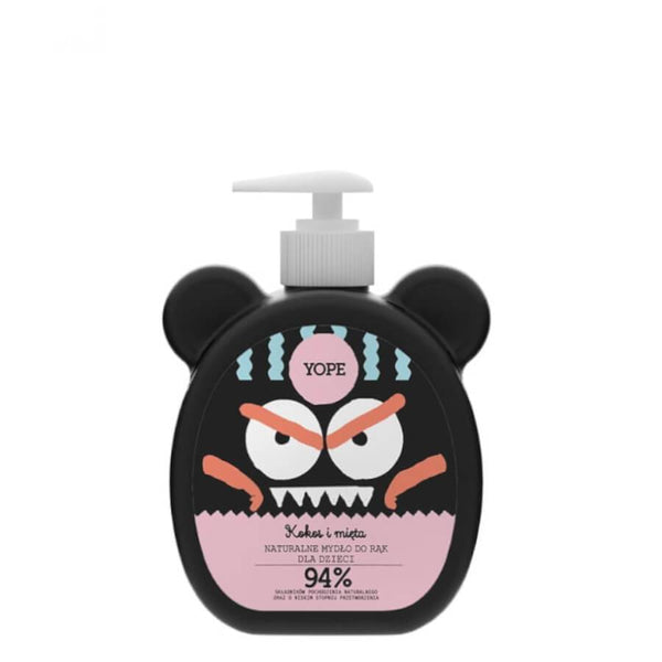yope kids coconuy and mint hand soap 400ml
