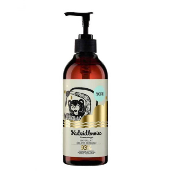 yope natural shower ger boswellia rosemary