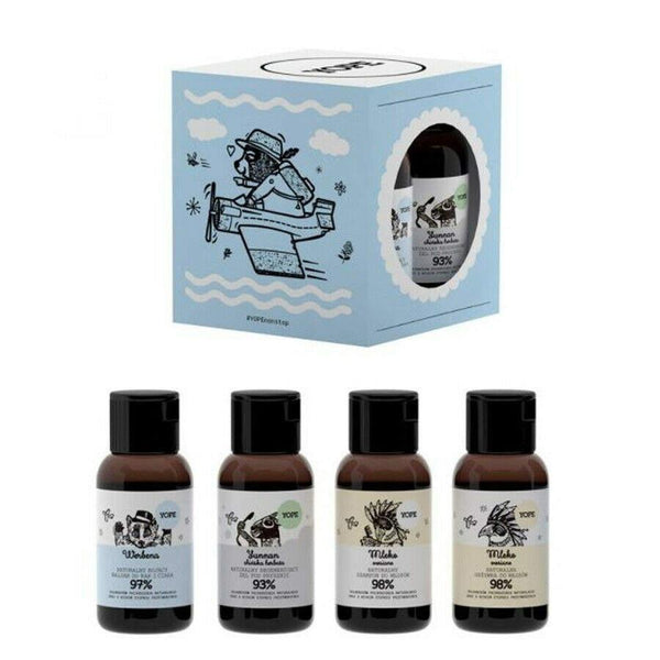 Yope Mini Travel Set Shampoo Conditioner Shower Gel