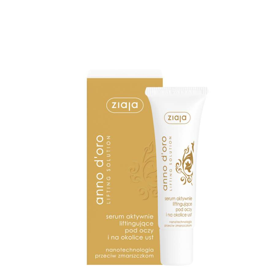 ziaja anno d oro lifting face lips serum 30ml