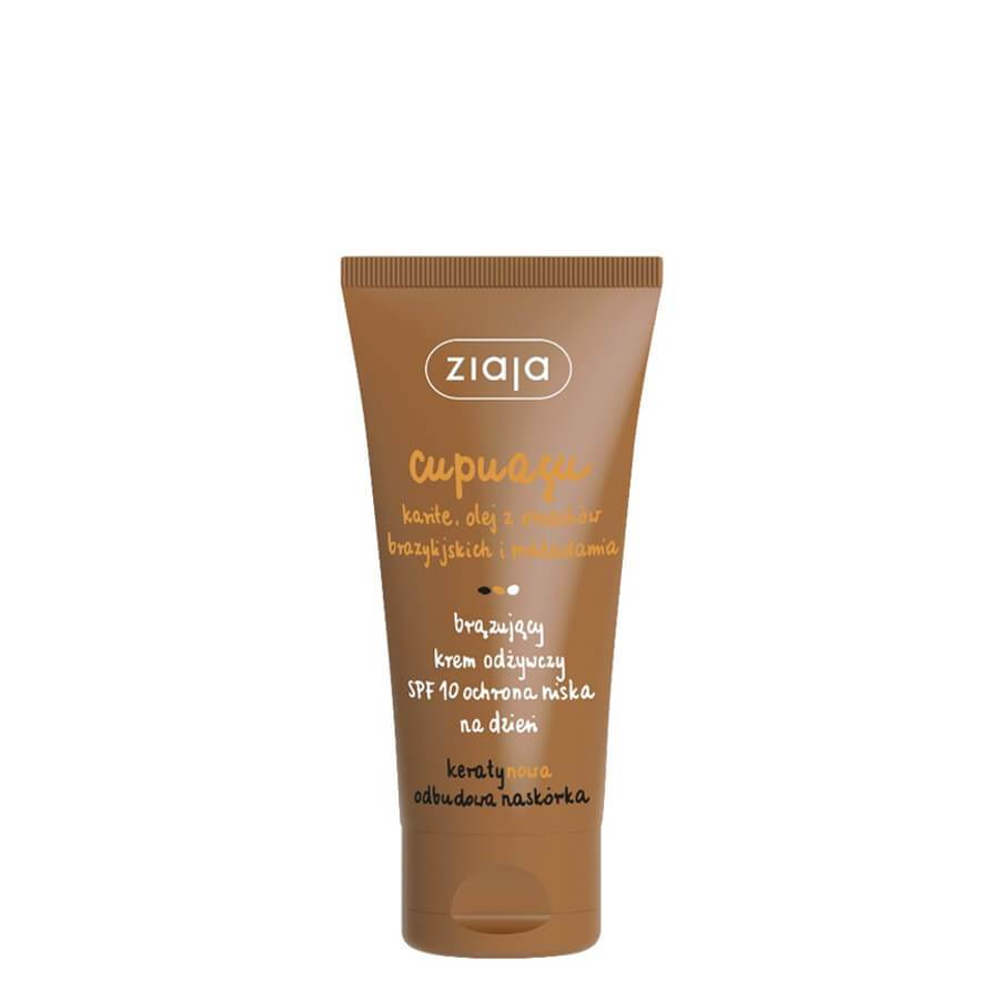 ziaja cupuacu vegan bronzing face cream 50ml