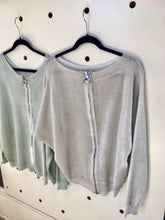 Load image into Gallery viewer, CindyG REVERSIBLE SHIMMER KNIT/CARDI/TOP