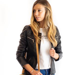 Cadelle NEW YORK LEATHER JACKET- Black
