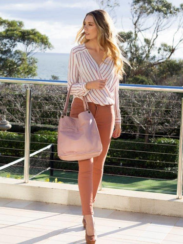 Cadelle EBONI HANDBAG- Misty Rose, Black or Camel.