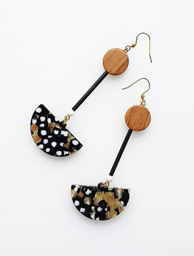 Middle Child MONARCH EARRINGS