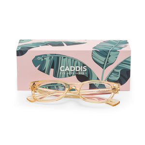 Caddis HONEY BIXBY Blue Light Filter Reading Glasses