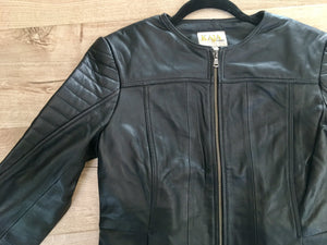 Kaja Clothing PARIS LEATHER JACKET