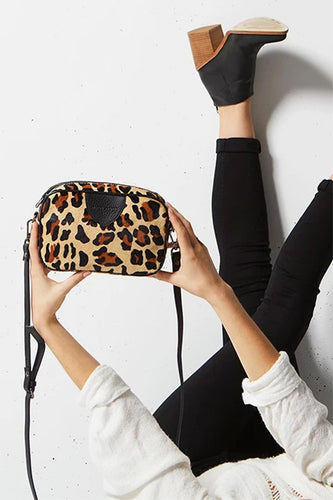StatusAnxiety PLUNDER BAG- Leopard or Black