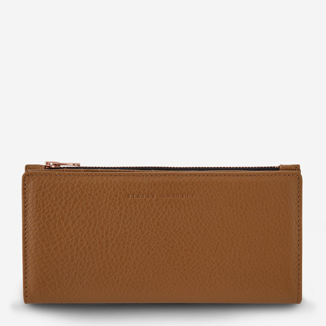 StatusAnxiety IN THE BEGINNING WALLET- 5 colour options