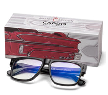 Load image into Gallery viewer, Caddis MISTER CARTOON Blue Light Filter Reading Glasses