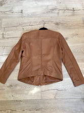 Load image into Gallery viewer, Kaja Clothing GIA Leather Jacket- COGNAC