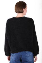 Load image into Gallery viewer, Olga de Polga MONTREAL ANGORA KNIT- Black