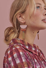 Load image into Gallery viewer, Middle Child BREUER EARRINGS- Black, Navy or Pink