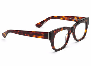Caddis TORTOISESHELL MIKLOS Blue Light Filter Reading Glasses