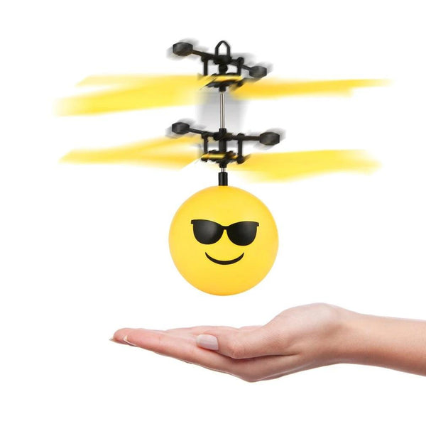 Amazing LED Light Emotion Ball Helicopter