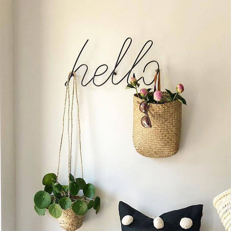 Letters Home Decor Interior Wall Sign