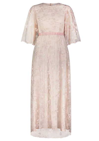 RR • Floral Embroidery gown