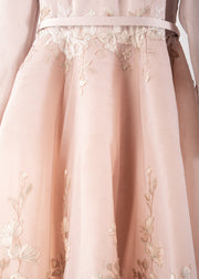 SK • Dusty Pink Floral Gown