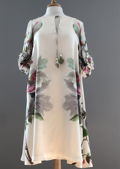 Frascara • Silky Floral Dress