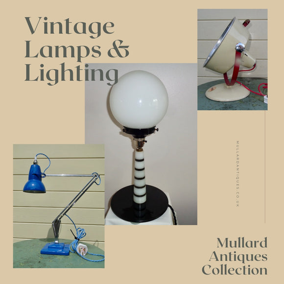 Vintage/Antique Lamps/Lighting