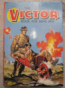 The Victor Book For Boys 1974
